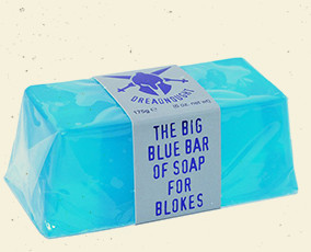Bluebeards big blue bar of soap for blokes