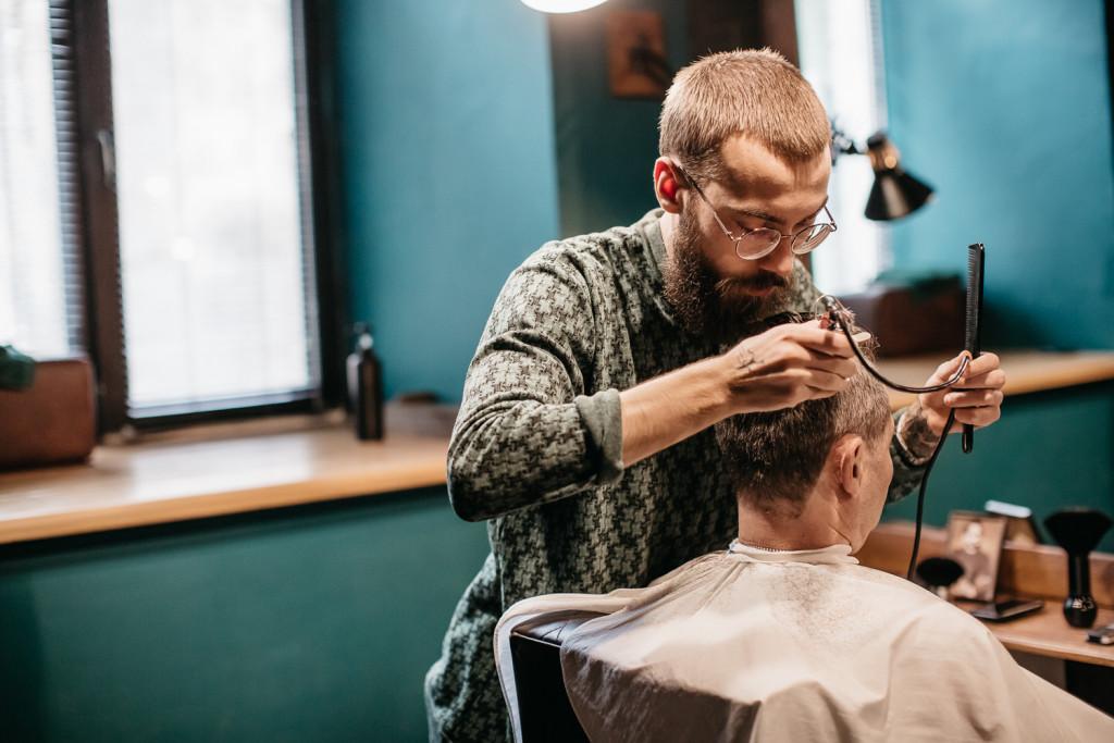 чоловіча зачіска