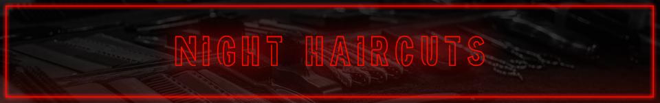 night haircuts at Frisor